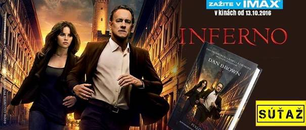 Inferno Peklo Dan Brown