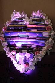 srdce z kníh
